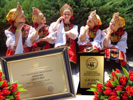 Школа хореографических дисциплин «Малахит» привезла Гран-При из Болгарии