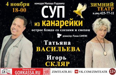 """Суп из канарейки (КДЦ """"Зимний театр"""", Орехово-Зуево)"""